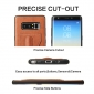 Shockproof Protective Cover Case with Kickstand Card Slot for Samsung Galaxy Note 8 - Brown