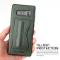 Shockproof Protective Cover Case with Kickstand Card Slot for Samsung Galaxy Note 8 - Green