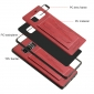 Shockproof Protective Cover Case with Kickstand Card Slot for Samsung Galaxy Note 8 - Red
