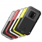 Shockproof Dust / Dust / Snowproof Aluminum Metal + Silicone Case For Samsung Galaxy S9 - White