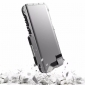 Full Aluminum Metal Shockproof Case For Samsung Galaxy S9  - Silver