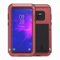 Metal Aluminum Armor Shockproof Bumper Case For Samsung Galaxy Note 9 - Red