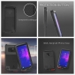Metal Aluminum Armor Shockproof Bumper Case For Samsung Galaxy Note 9 - Silver