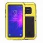 Metal Aluminum Armor Shockproof Bumper Case For Samsung Galaxy Note 9 - Yellow