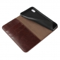 Crazy Horse Pattern Genuine Leather Case for iPhone XS Max - Coffee