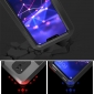 For Huawei Mate 20 Lite Water/Shock/Dust Proof Gorilla Glass Metal Case Cover