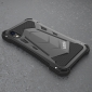 For iPhone XR/XS Max R-JUST Heavy Duty Metal Aluminum Armor TPU Case Cover