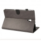 For Samsung Galaxy Tab S4 10.5 T830/T835 Crazy Horse Pattern Stand Leather Case - Grey