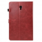 For Samsung Galaxy Tab S4 10.5 T830/T835 Crazy Horse Pattern Stand Leather Case - Red