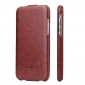 Crazy Horse Vertical Flip Leather Case For iPhone XR - Brown