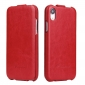 Crazy Horse Vertical Flip Leather Case For iPhone XR - Red