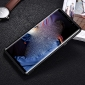 Luxury Genuine Leather+Aluminum Back Case Cover For Samsung Galaxy Note 9 - Black