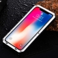 Shockproof Waterproof Protective Metal Case for iPhone XS - Silver