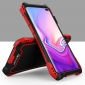 R-JUST Aluminum Metal Carbon Fiber Case for Samsung Galaxy S10 - Camouflage