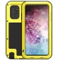 For Samsung Galaxy Note 10 Plus - Shockproof Dustproof Aluminum Metal Case Yellow