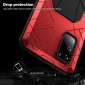 For Samsung A52 A72 5G Case Aluminum Metal Shockproof Hard Cover