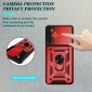 For Samsung Galaxy A52S 5G Case Ring Slide Camera Lens Armor Cover