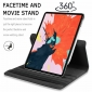 For iPad Mini 6th Generation 2021 8.3' Case Rotating Leather Stand Flip Cover