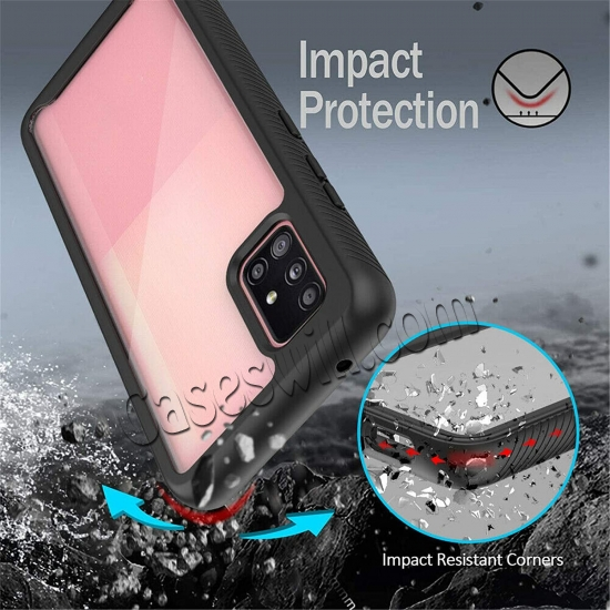 cheap For Samsung Galaxy A32 5G Case Heavy Duty Shockproof Rugged Protective Cover