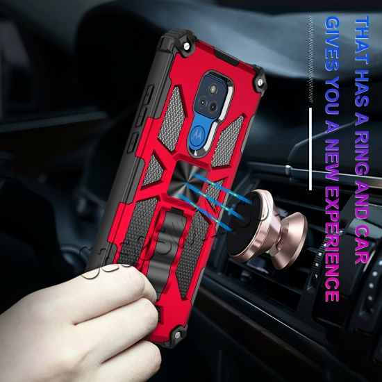 best price For Motorola Moto G Stylus Power 2021 Case Rugged Armor Magnetic Stand Cover