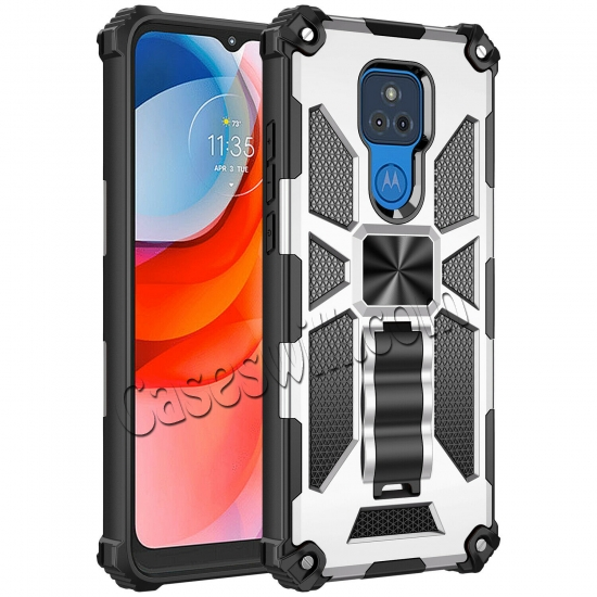low price For Motorola Moto G Stylus Power 2021 Case Rugged Armor Magnetic Stand Cover