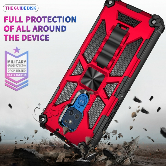 high quanlity For Motorola Moto G Stylus Power 2021 Case Rugged Armor Magnetic Stand Cover