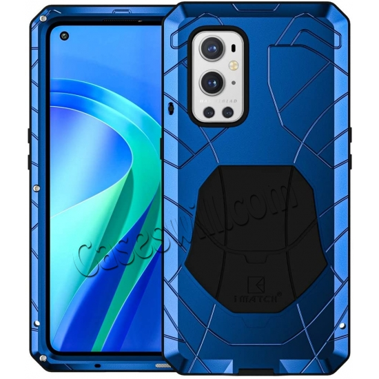 discount Case for Oneplus 9 Pro, Oneplus 9 Pro Rugged Metal Aluminum Armor Heavy Duty Bumper Cover