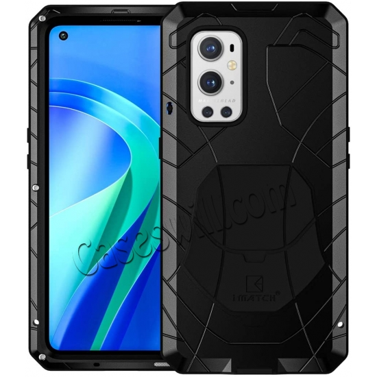 wholesale Case for Oneplus 9 Pro, Oneplus 9 Pro Rugged Metal Aluminum Armor Heavy Duty Bumper Cover