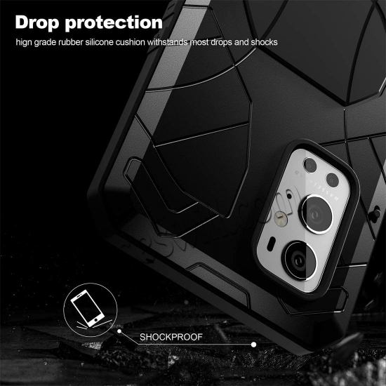 on sale Case for Oneplus 9 Pro, Oneplus 9 Pro Rugged Metal Aluminum Armor Heavy Duty Bumper Cover