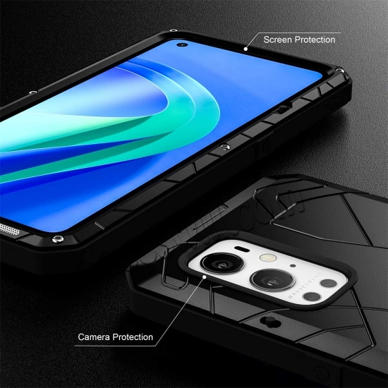 low price Case for Oneplus 9 Pro, Oneplus 9 Pro Rugged Metal Aluminum Armor Heavy Duty Bumper Cover