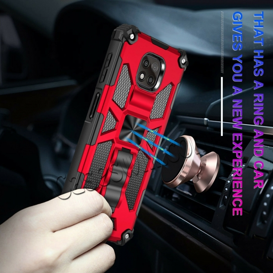 China leading wholesale For Motorola Moto G Power 2021 Case Full Body Built-in Kickstand Cover