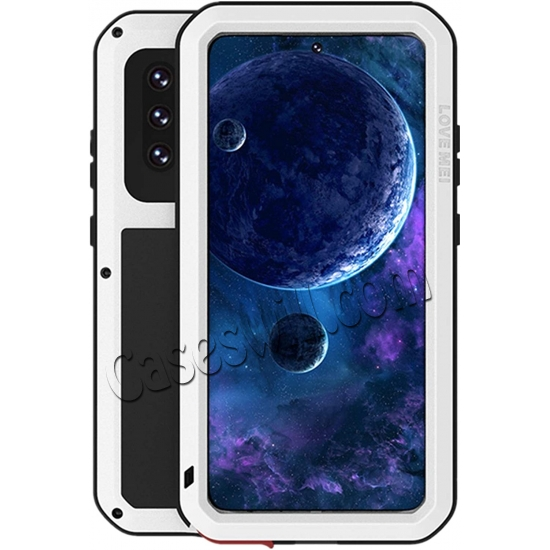 top quality For Samsung Galaxy A52 5G Case Shockproof Aluminum Gorilla Glass Metal Cover