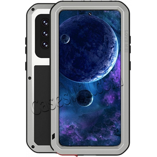 best price For Samsung Galaxy A52 5G Case Shockproof Aluminum Gorilla Glass Metal Cover